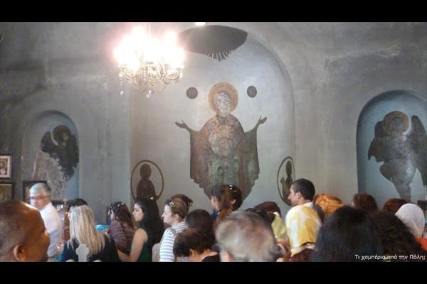 Στην Παναγία Βεφά όπου οι μουσουλμάνοι συρρέουν κάθε πρώτη του μήνα για να προσκυνήσουν και να πάρουν αγίασμαΕΙΚΟΝΕΣ