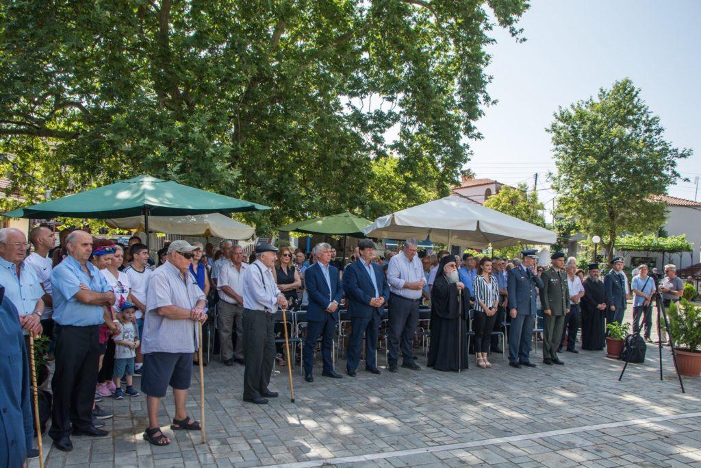 Συγκινητική τελετή για τους 22 εκτελεσθέντες από τους ναζί στο Κεφαλόβρυσο Πωγωνίου..