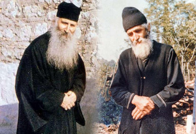 Αποτέλεσμα εικόνας για αγιος παισιος και αγιος ιακωβος τσαλικης