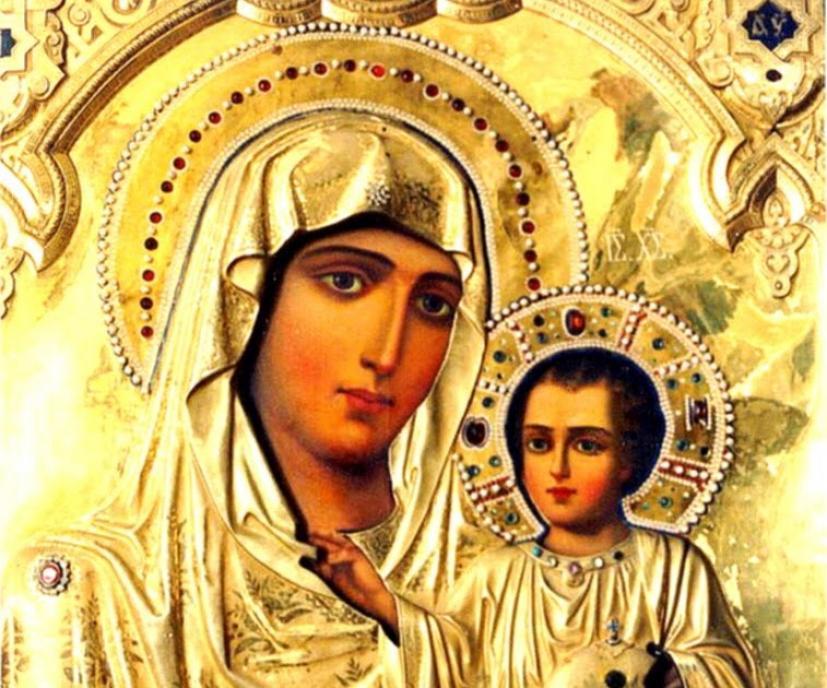 Παναγία η Ιεροσολυμίτισσα: Η Αχειροποίητη Εικόνα του Θεομητορικού Μνήματος και η Ιστορία Της | iEllada.gr
