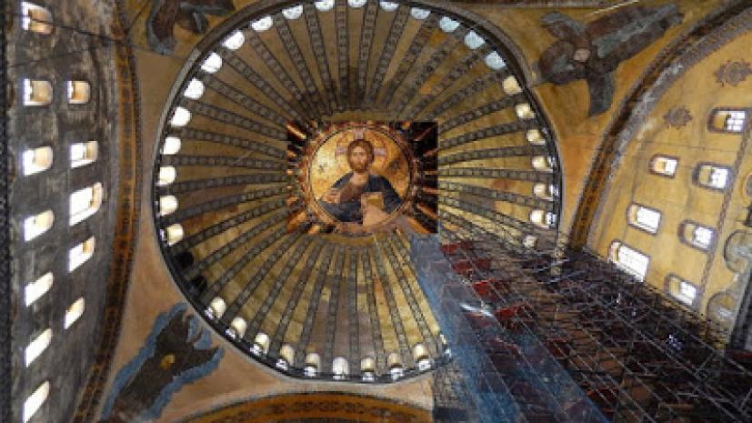 Τούρκικες δήθεν αρχιτεκτονικές παρεμβάσεις στην Αγία Σοφία για να ...