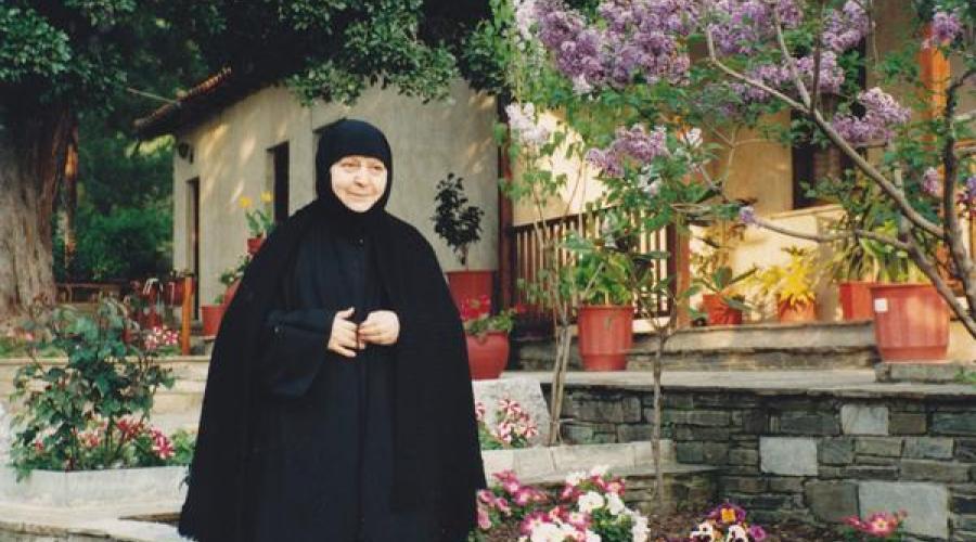 Γερόντισσα Μακρίνα Βασσοπούλου | iEllada.gr