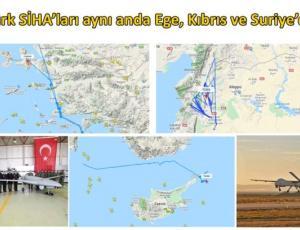 Οπλισμένα μην επανδρωμένα τουρκικά αεροσκάφη , Αιγαίο, Κύπρος
