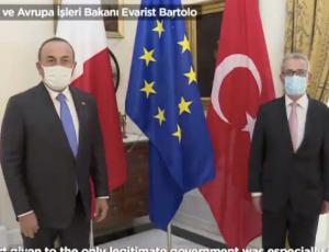 μάλτα στήριξη τουρκια Λιβύη
